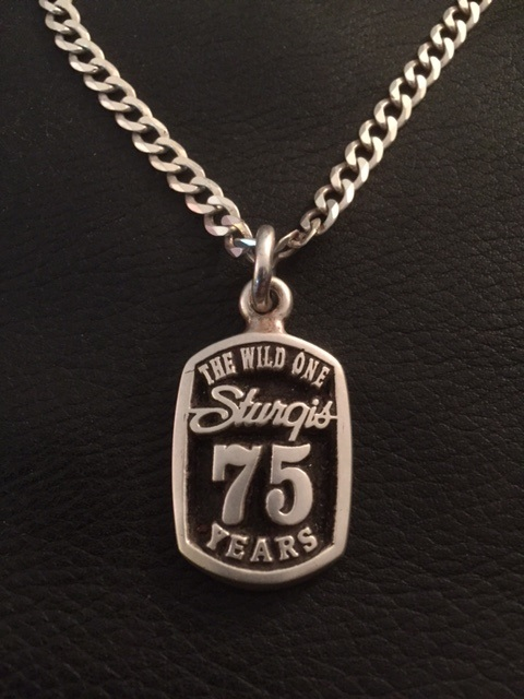 Sturgis 75th Wild One Pendant & Chain