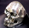 Large Closed Mouth Skull Ring-SS